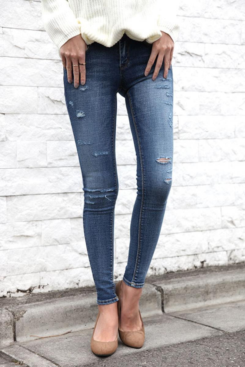 Slim Washing Denim