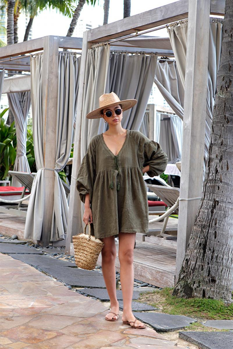 Tassel Tunic Wide One-piece