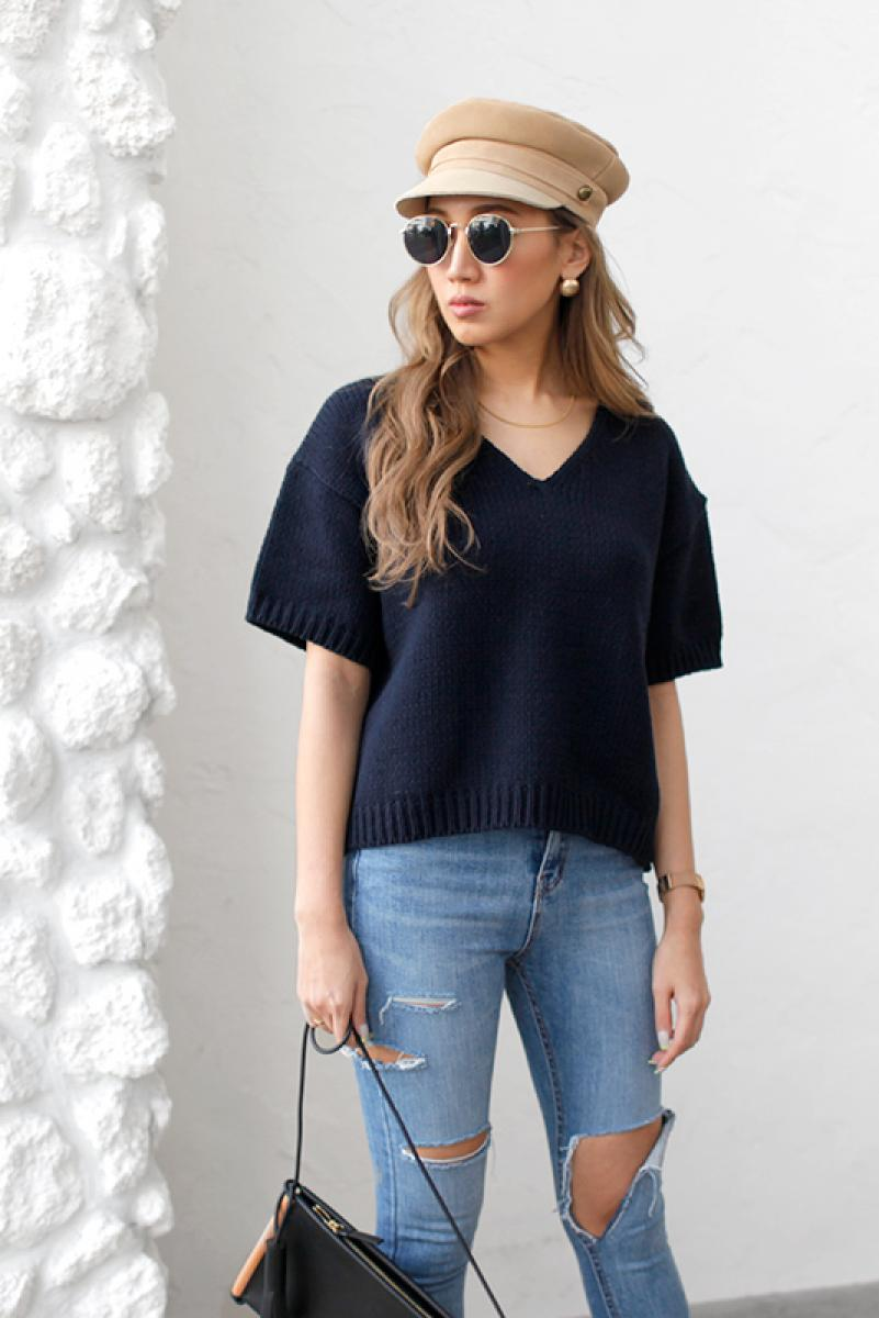 Summer Lowgauge Knit Tops