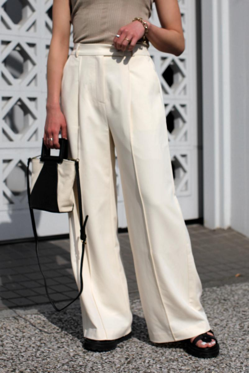 Center Seam Wide Pants