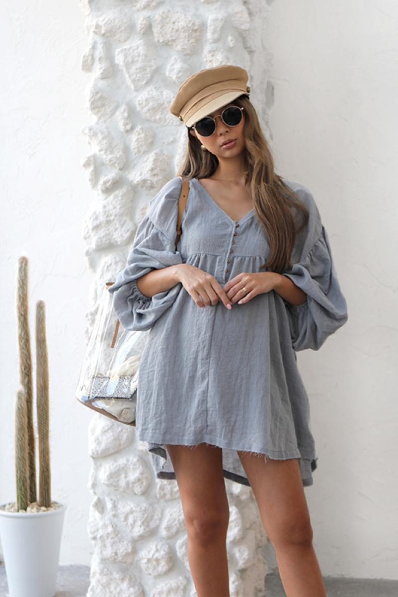 Airy Cotton One-piece