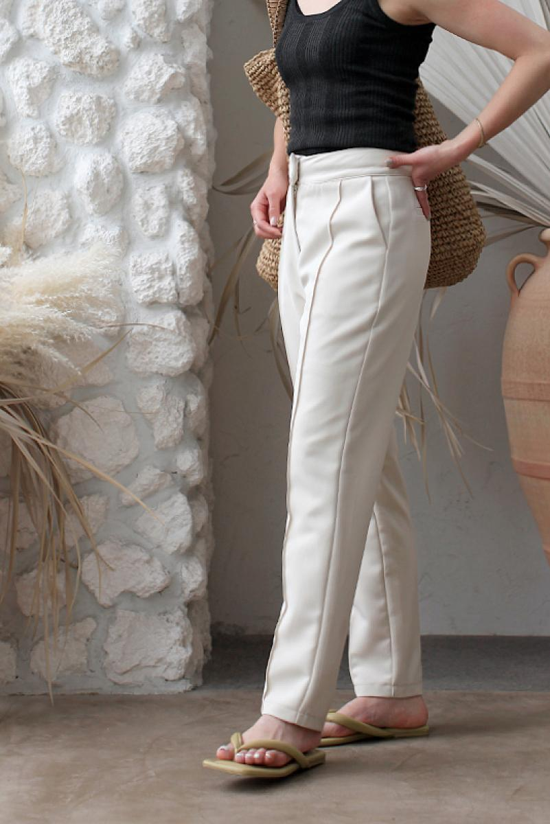 Center Seam Tapered Pants
