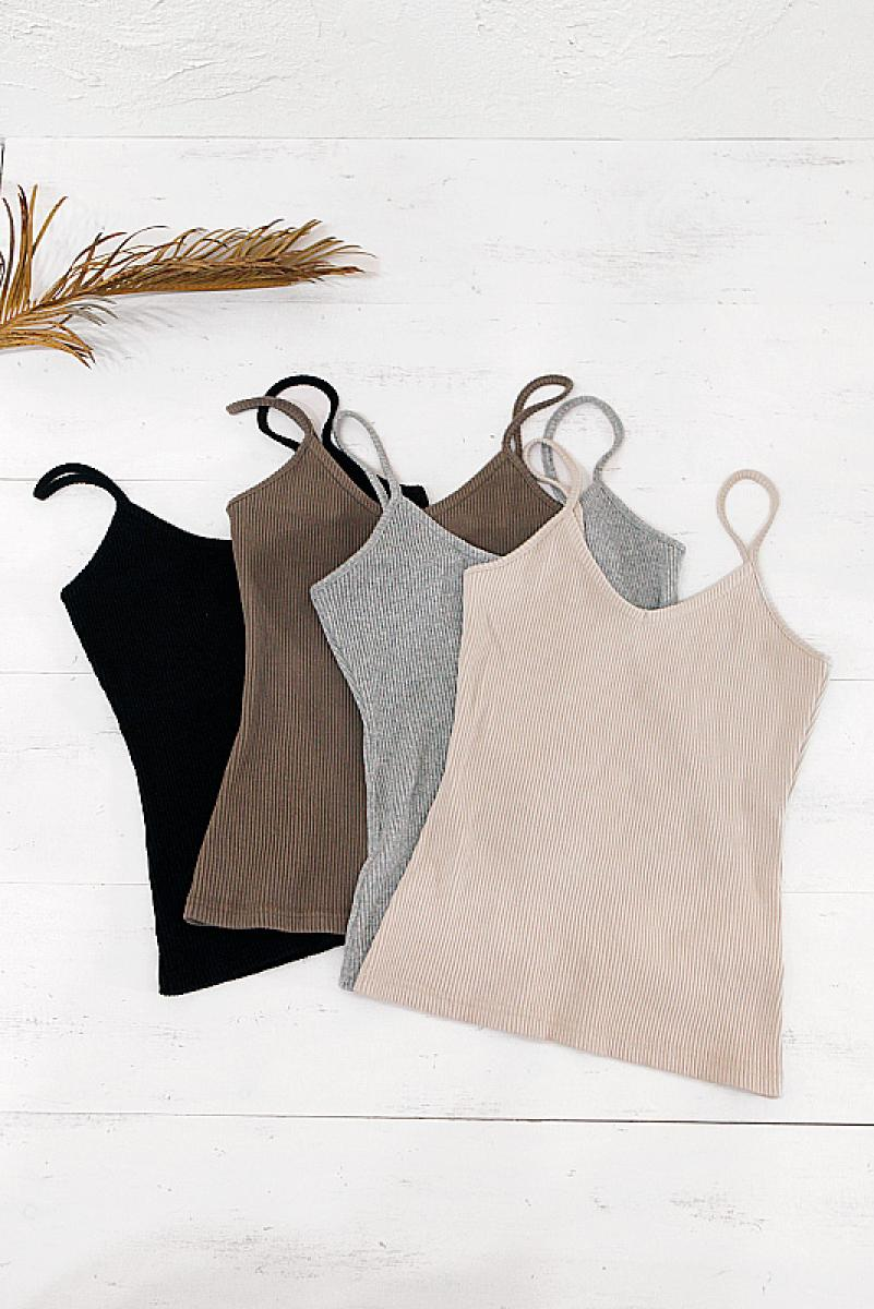 Detailed Cotton Lib Camisole