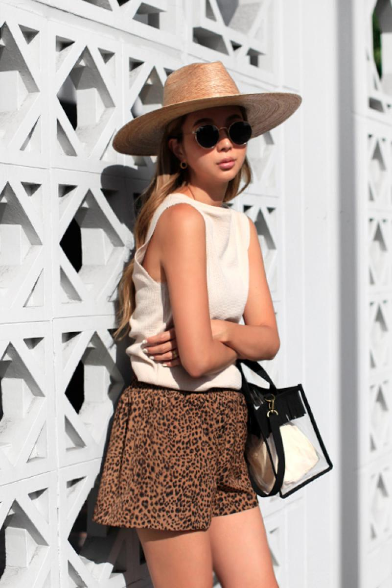 Relax Leopard Short Pants