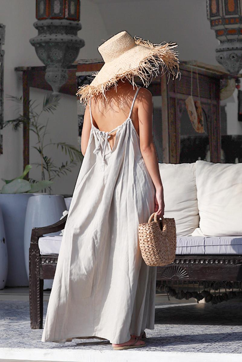 Rope Strap Maxi One-piece