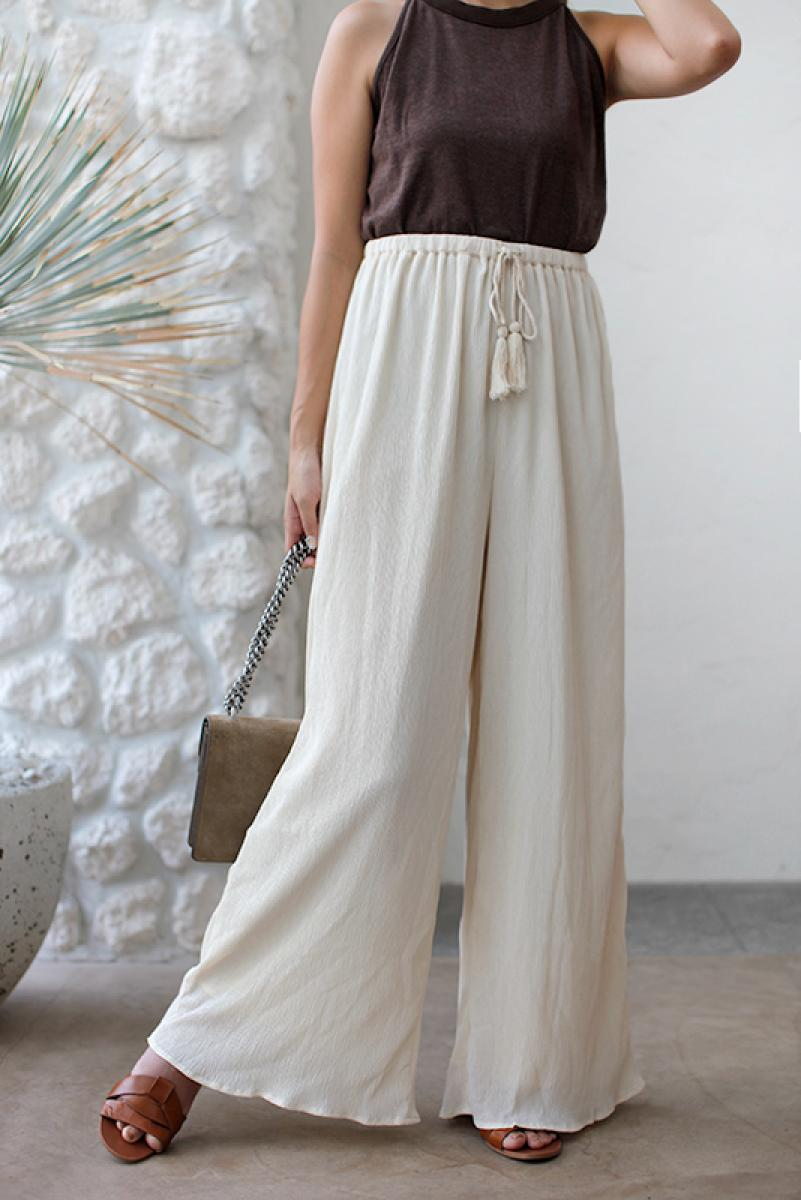Tassel Wide Pants