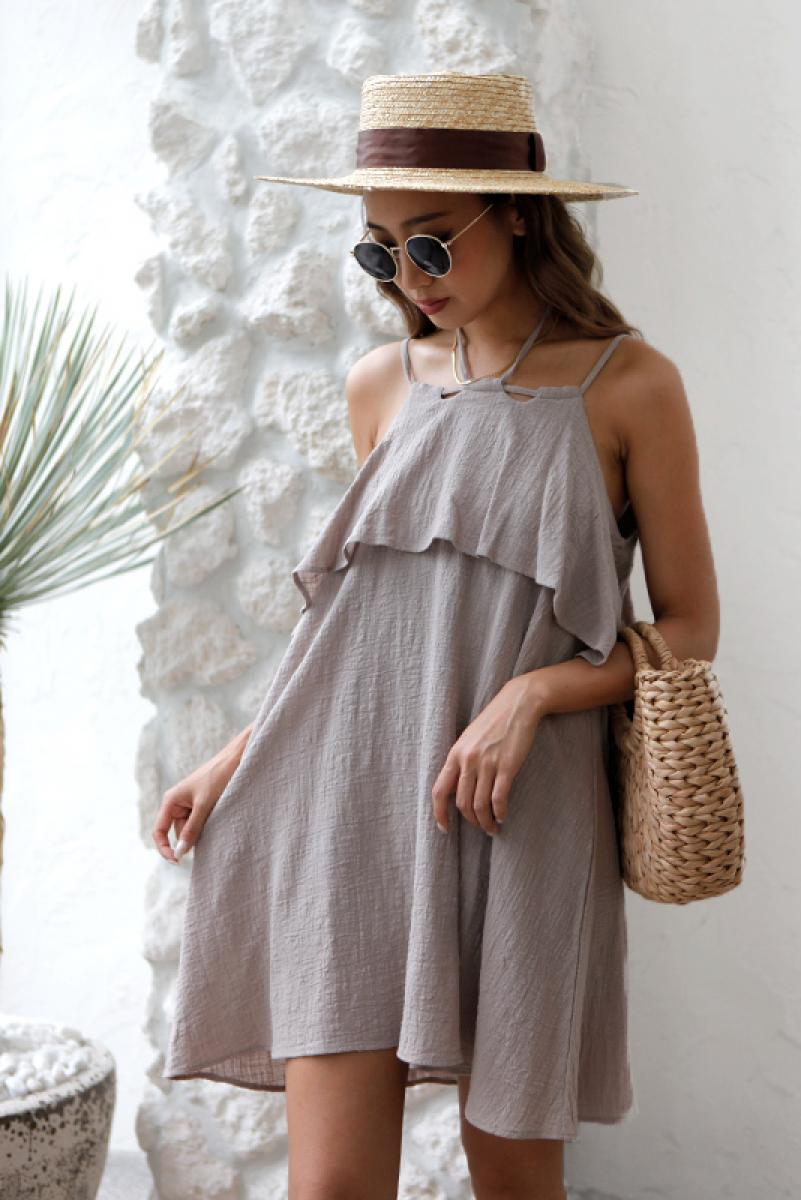Frill Mini One-piece