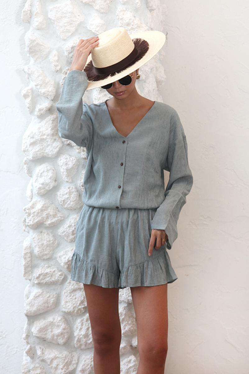 Airy Chiffon Rompers