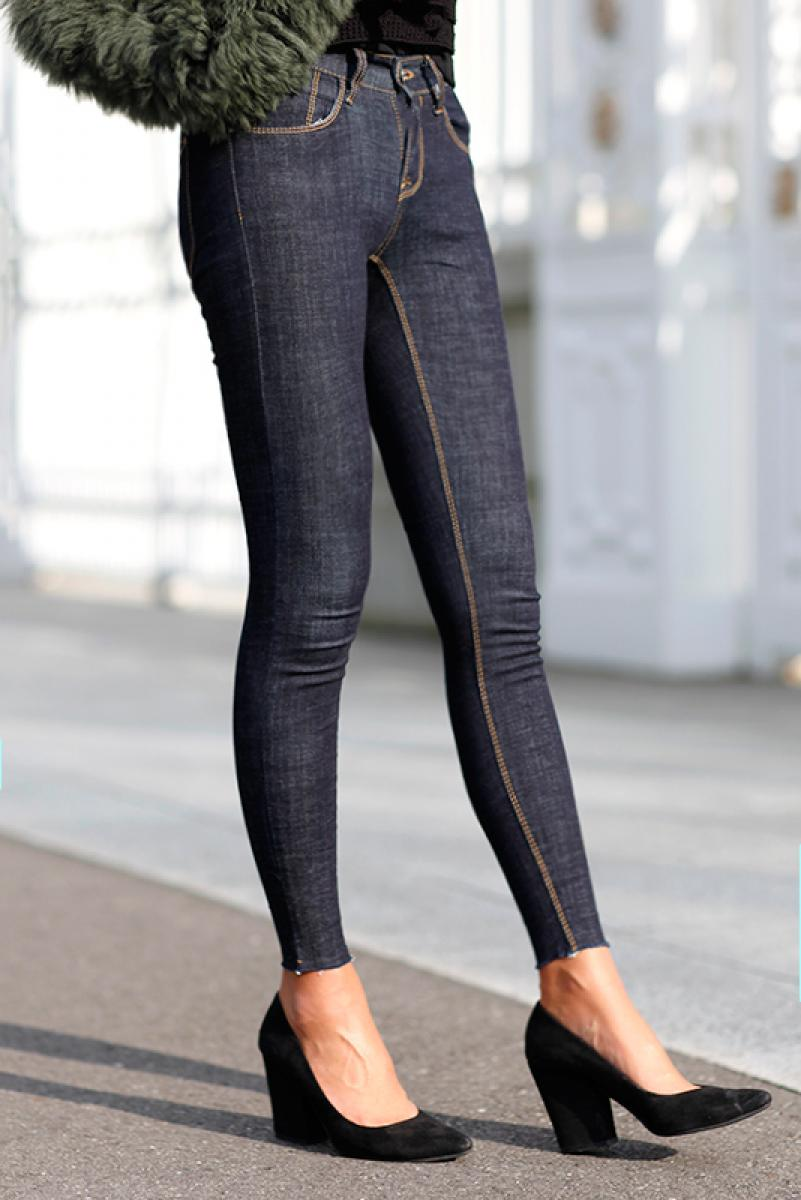 Indigo Skinny Denim