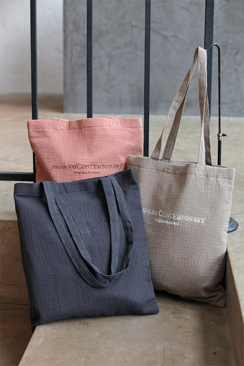 Cotton Gauze Tote Bag