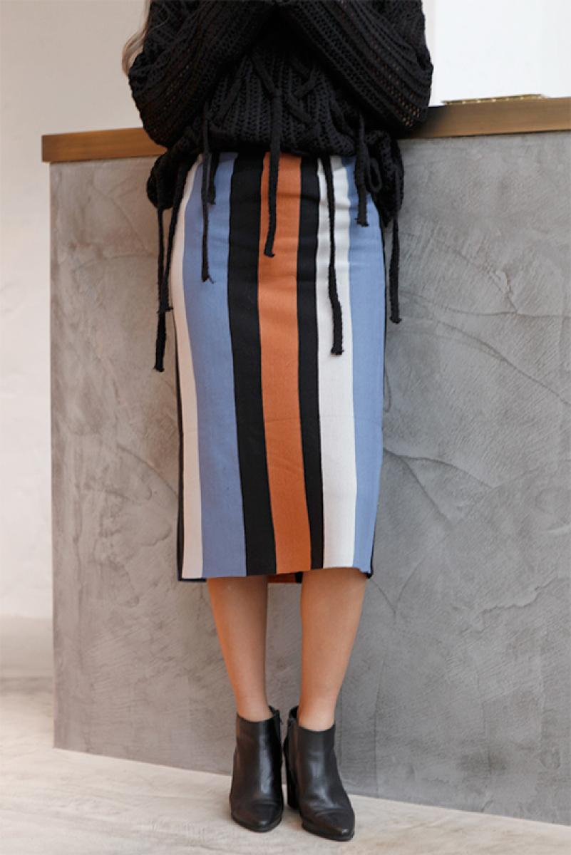 Mulch Stripes Skirt