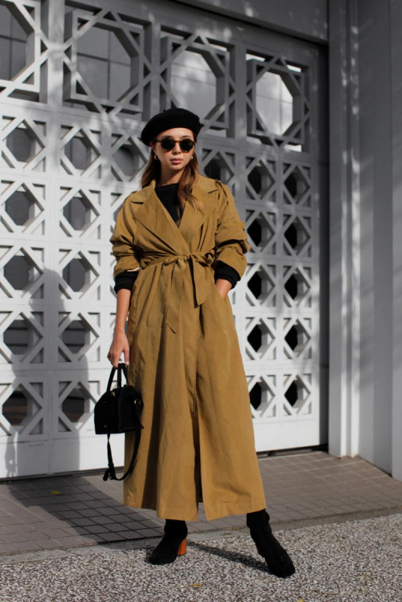 Design Long Trench Coat