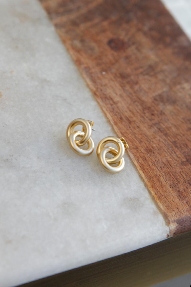 Duble Little Ring Pierce