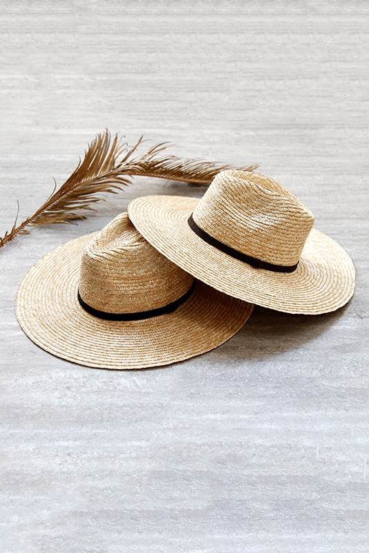 Wide Straw Hat