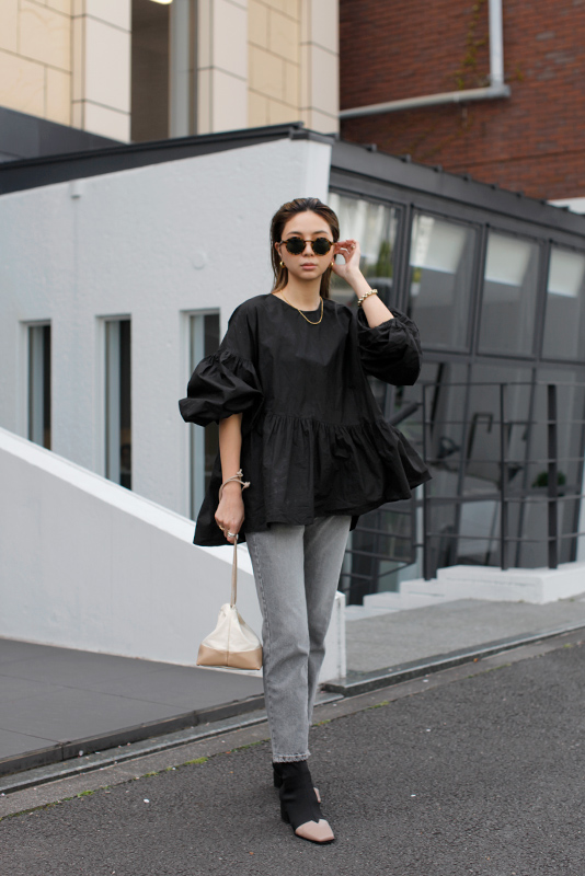 Asymmetry Flare Tops