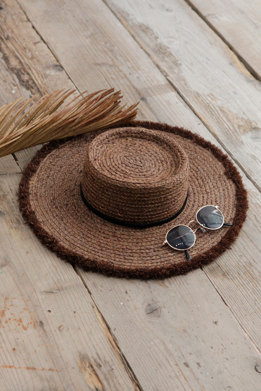 Summer Wide Boater Hat