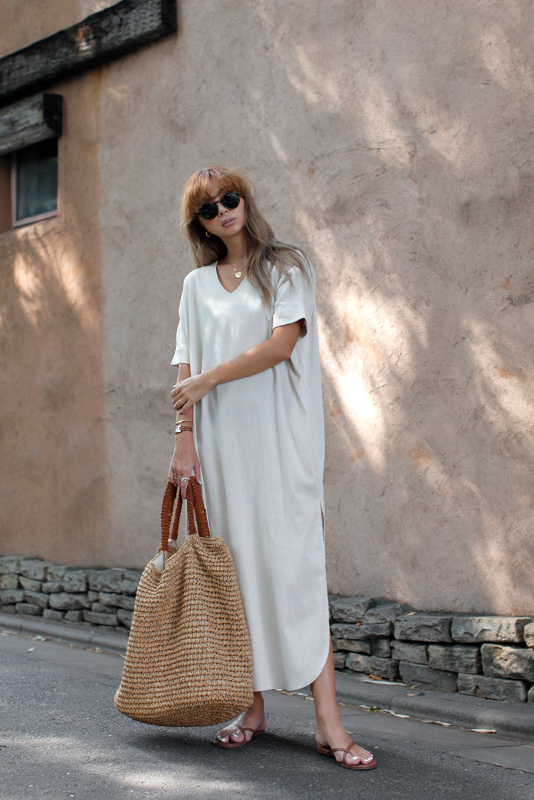 Linen Loose One-piece