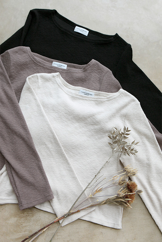 Cotton Lib Long Sleeve Tops