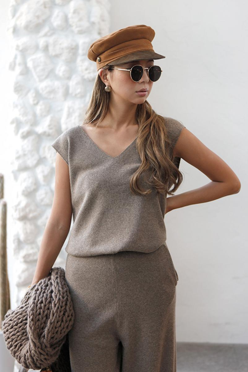 Wool Knit Tops