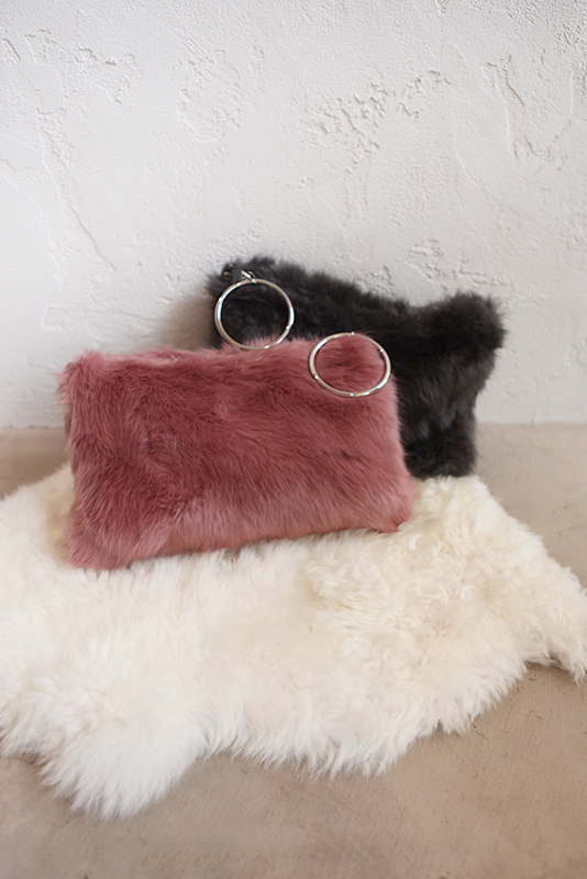 Loop Crutch Fur Bag