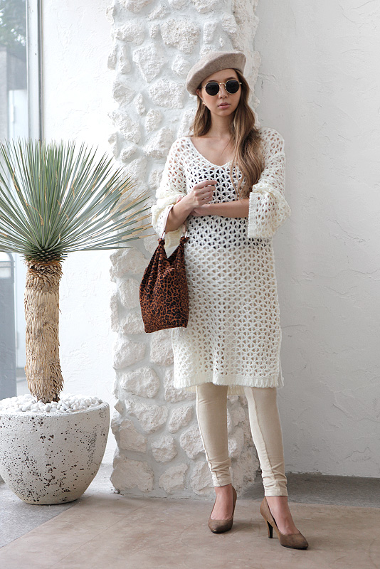 Low Gauge Knit One-piece