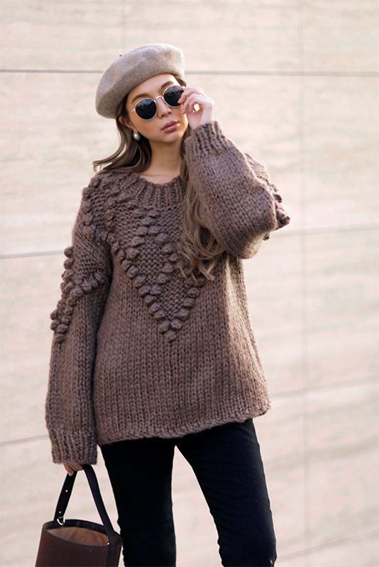 Design Volume Knit Tops