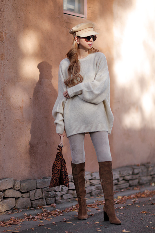 Wool Knit Tunic